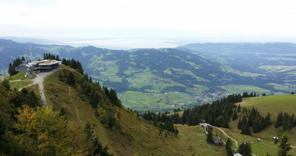 Sonderdach Panorama Bezau Bodensee