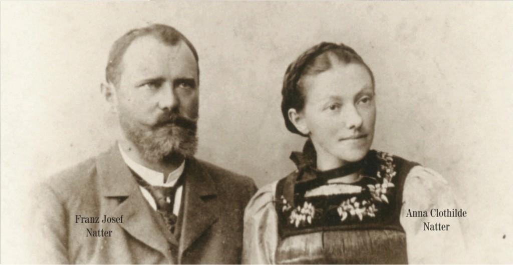 Franz Josef natter und Anna natter