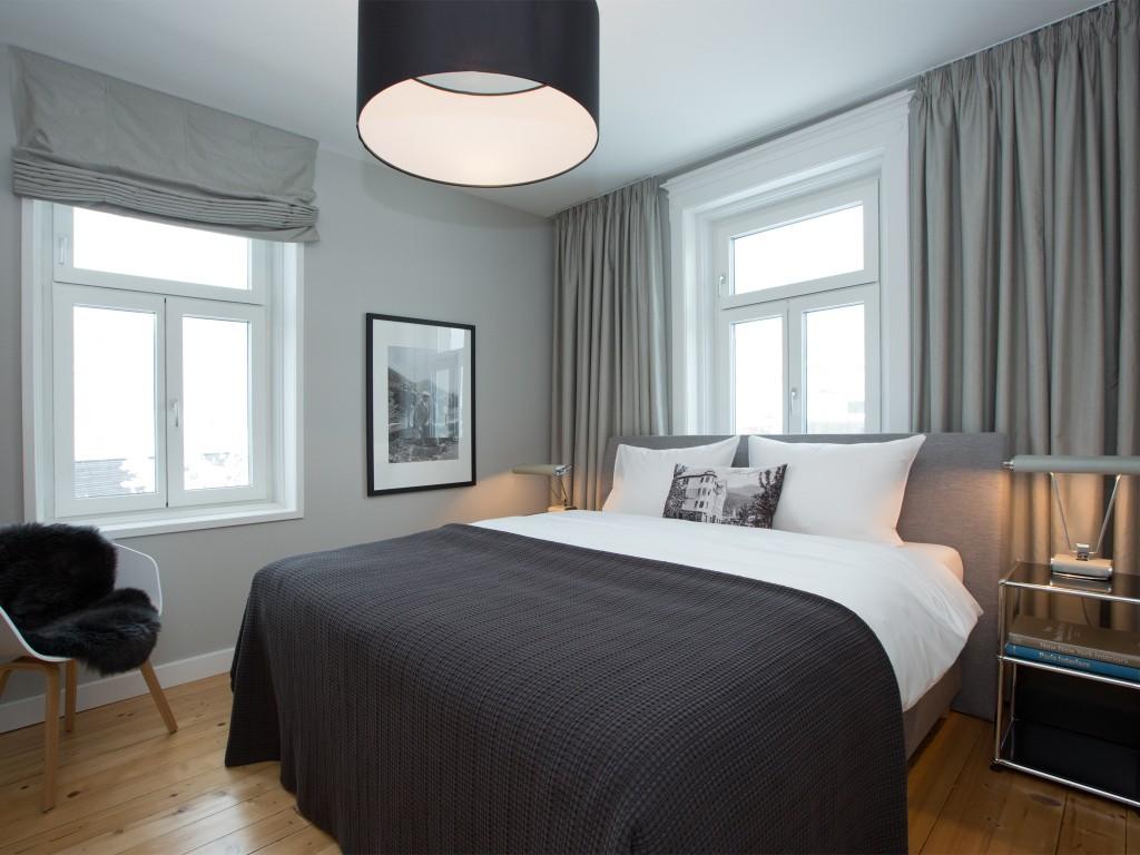 Schlafzimmer Bezau Boutique Apartments